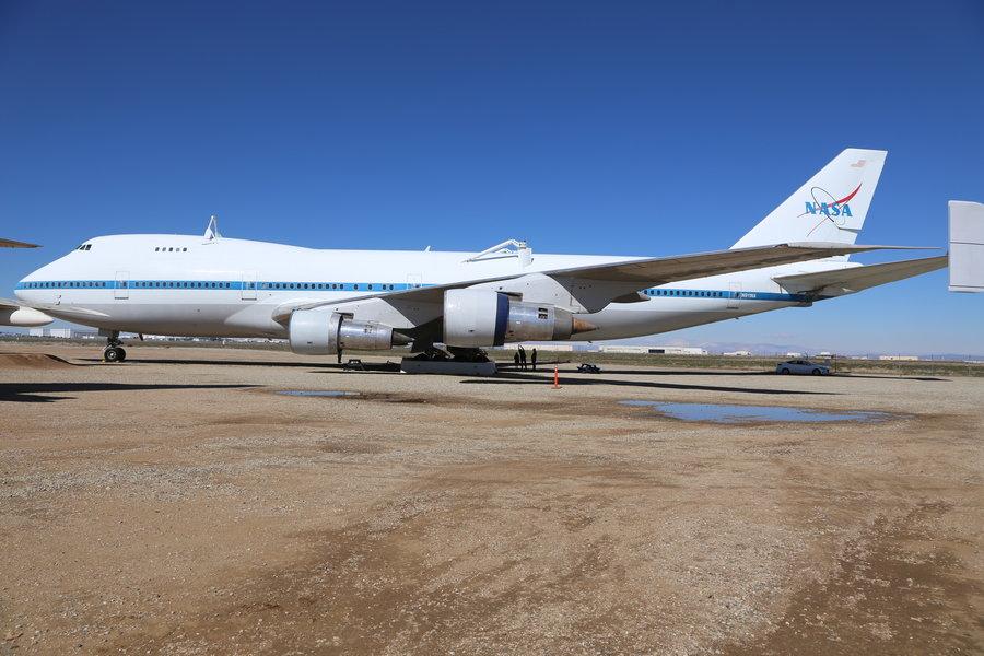 Der Space Shuttle Carrier
