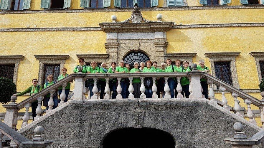Bei bestem Wetter führte die Gymnastikfahrt im September 2018 ins österreichische Salzburg