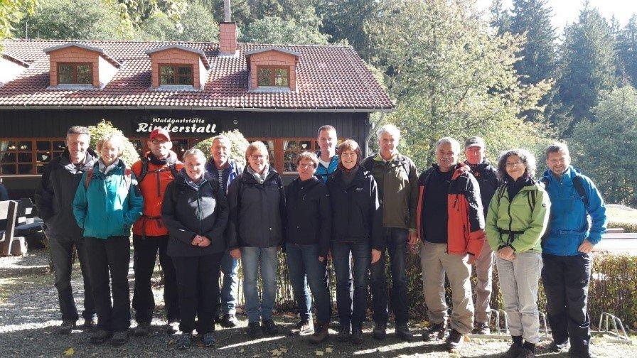 16. Wanderung nach Braunlage (Harz), Oktober 2016