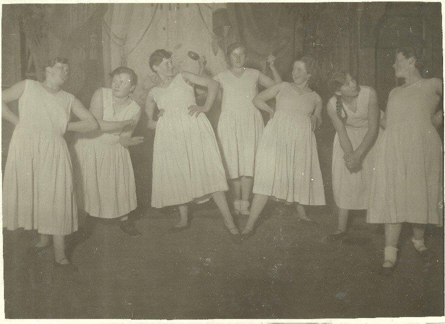 """1927: Im Winter wurden sie zur """"Turn- und Tanzriege"""""""