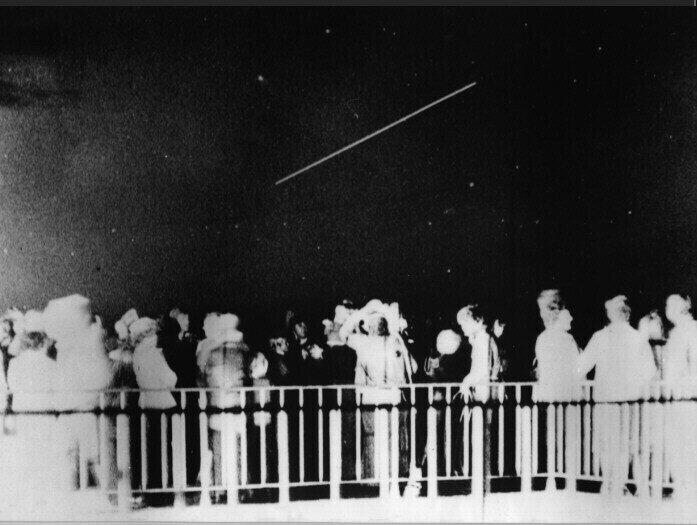 Überflug des Orbitalkomplexes Sojus 31/Salut 6/Sojus 29