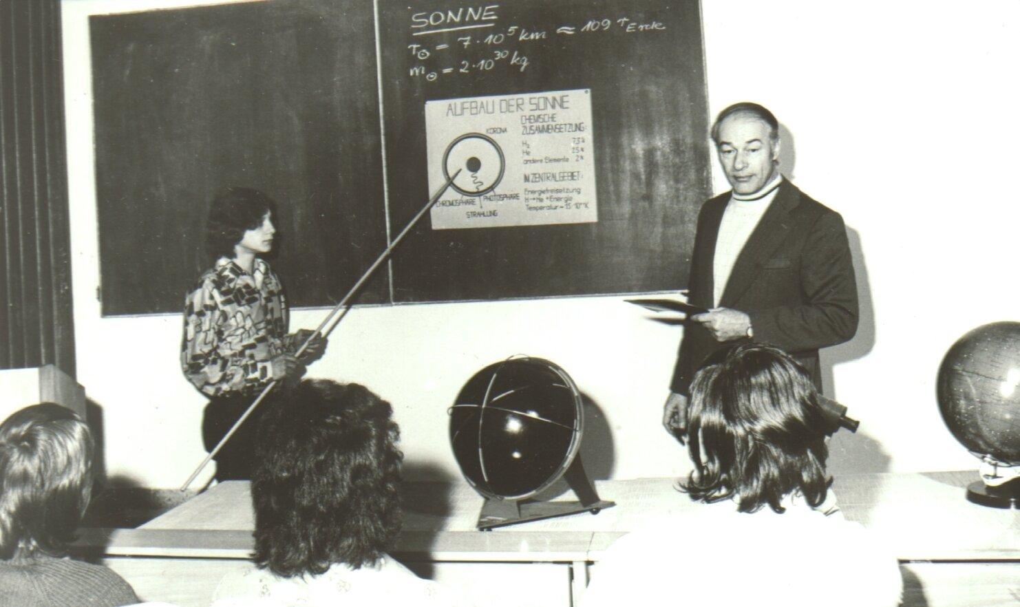 Unterricht mit Friedemann Berth