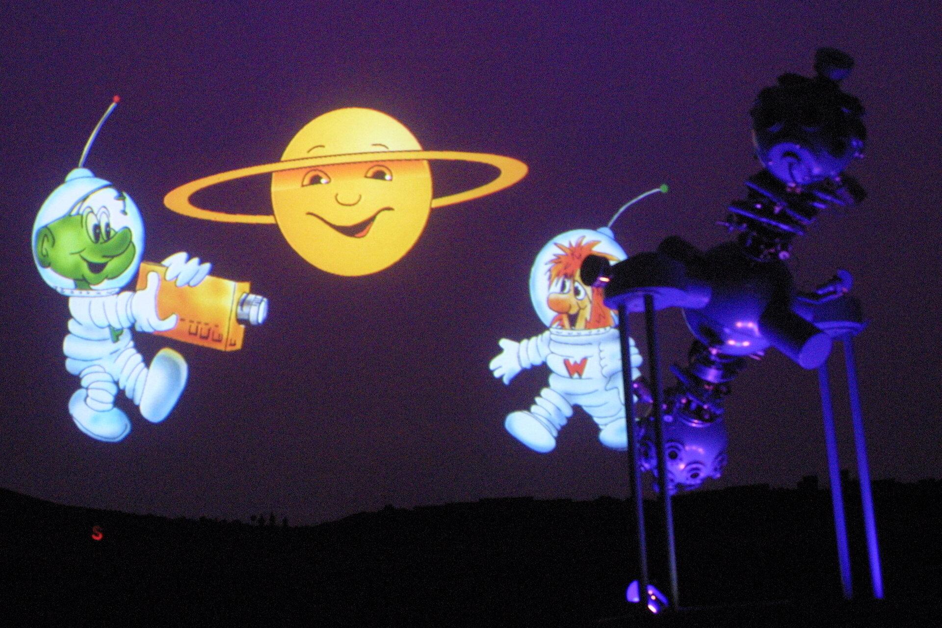 Die Planetariumskobolde in Rodewisch