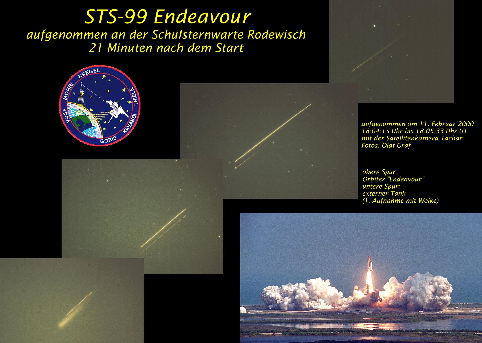 STS-99 Startumlauf