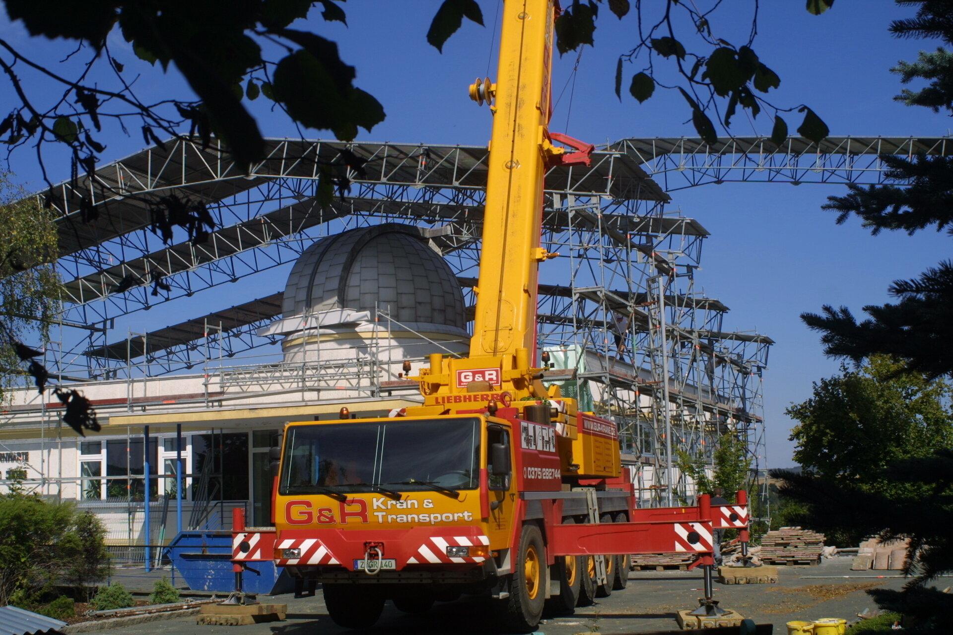 Sanierung der Beobachtungsplattform 2004