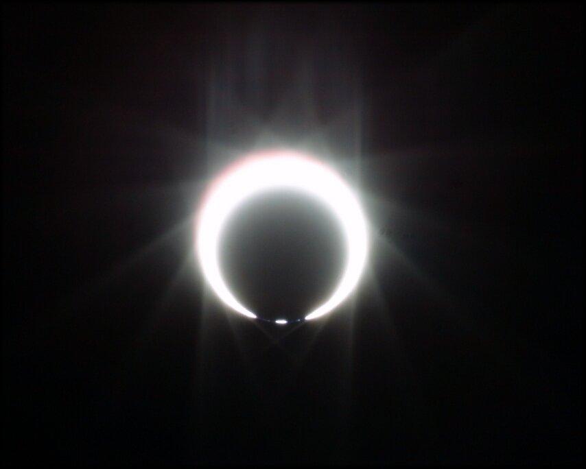 Beginn der ringförmigen Phase