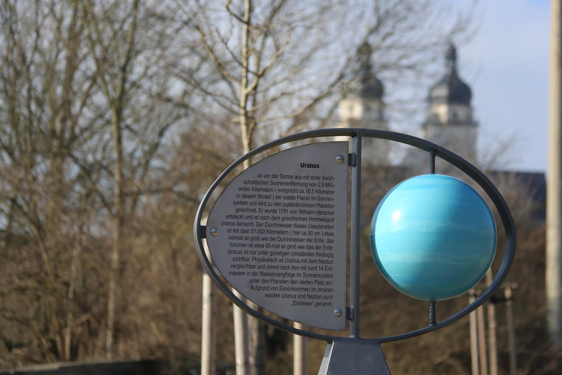 Uranusstele in Plauen
