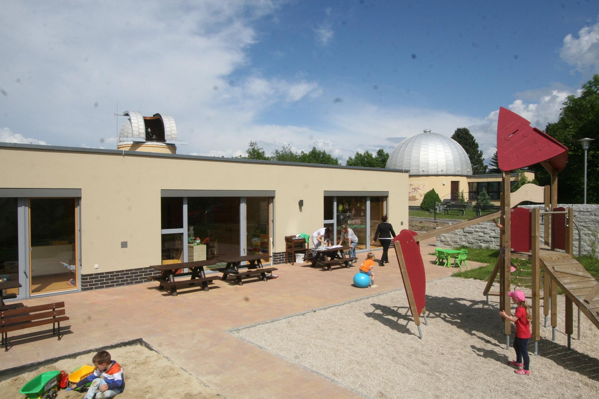 Der Kindergarten an der Sternwarte