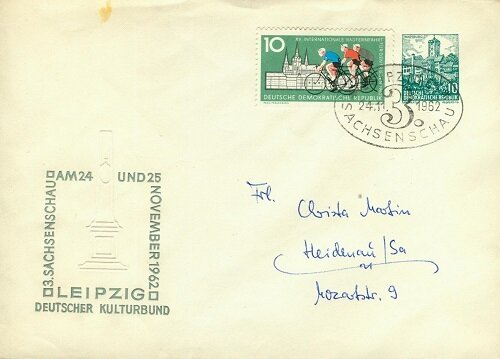 3. Sachsenschau 1962 für den Ortsverkehr