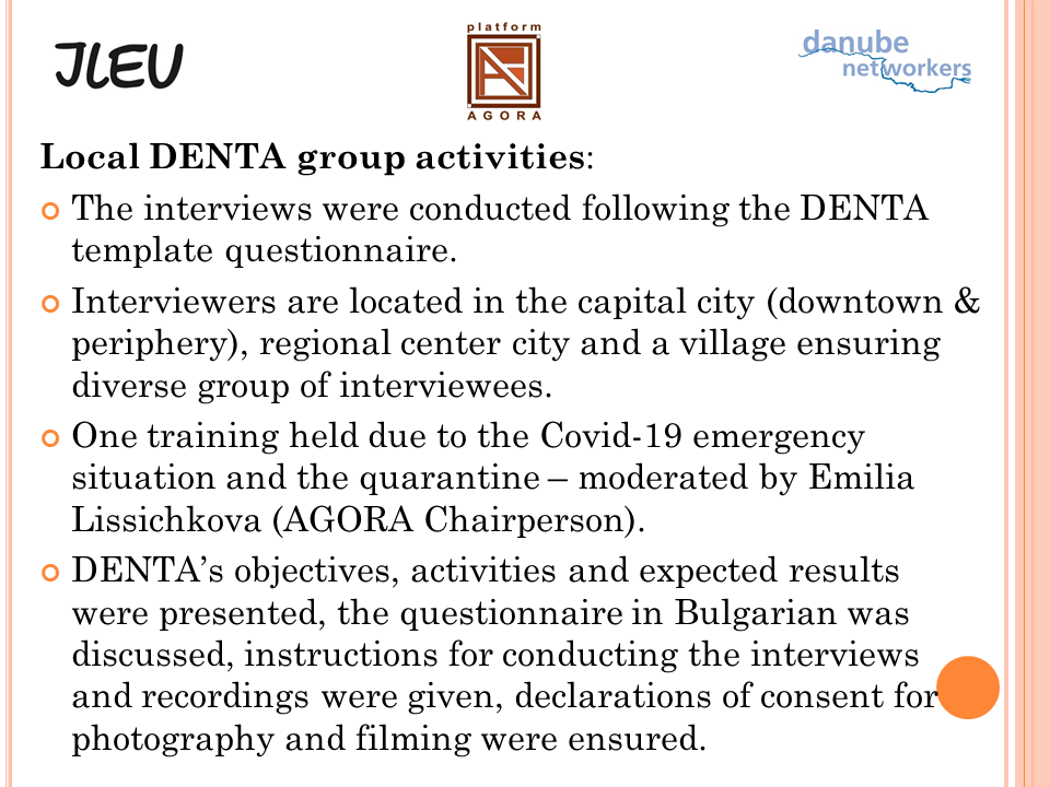 DENTA Group activities Sofia