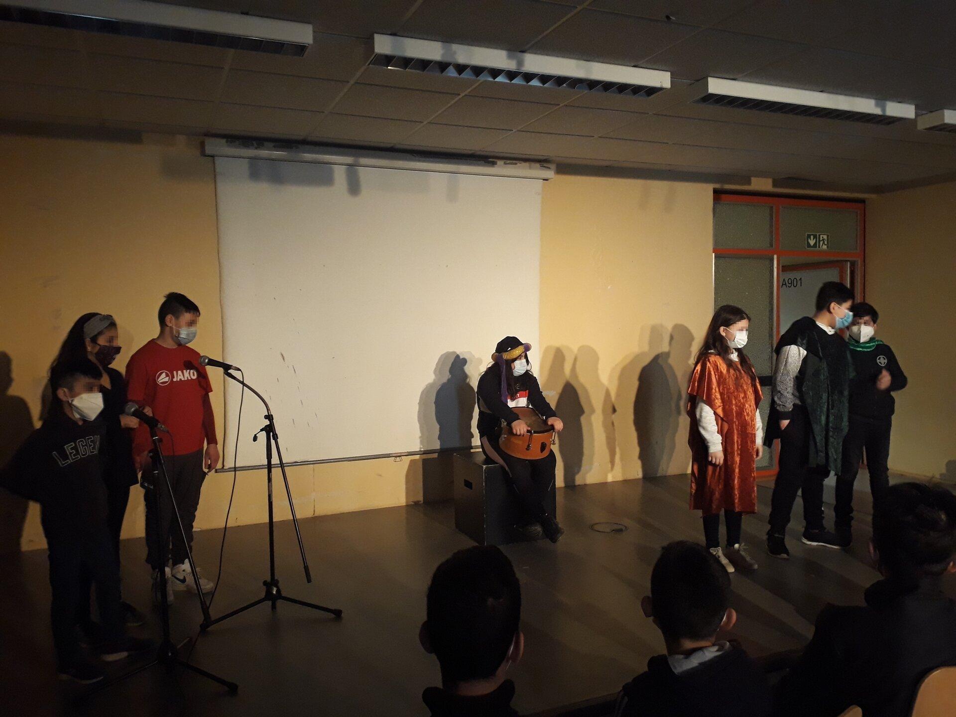Bühne Trommel