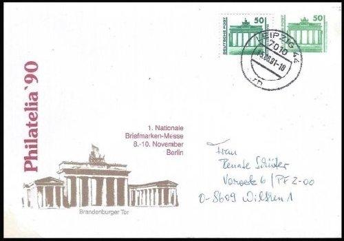 Privatumschlag 2, Ausgabe nach Ende der DDR