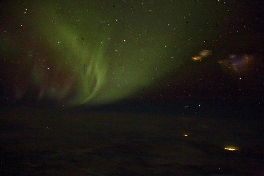Polarlichter bei ca. 52 Grad Nord über Kanada