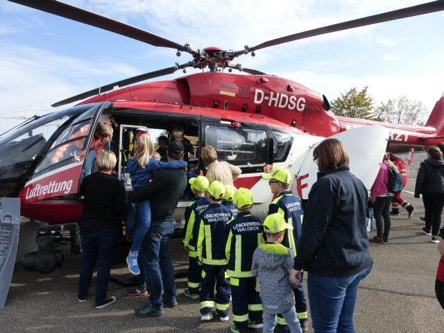 Besuch der Staatlichen Feuerwehrschule in Lappersdorf