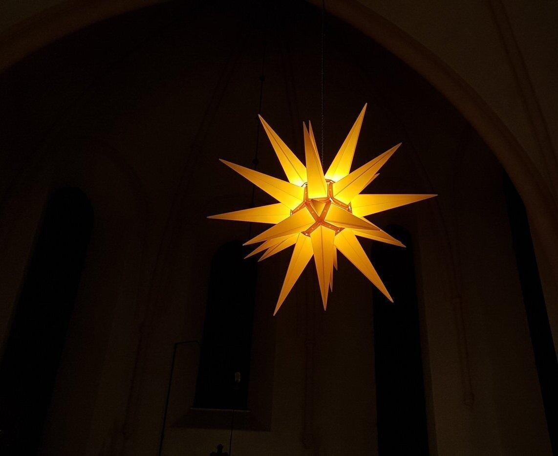 Weihnachtsstern Klosterkirche