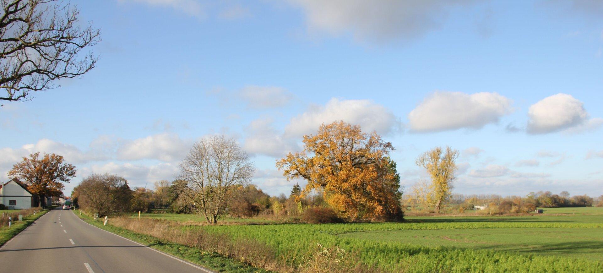 Anfahrt aus Richtung Wittstock