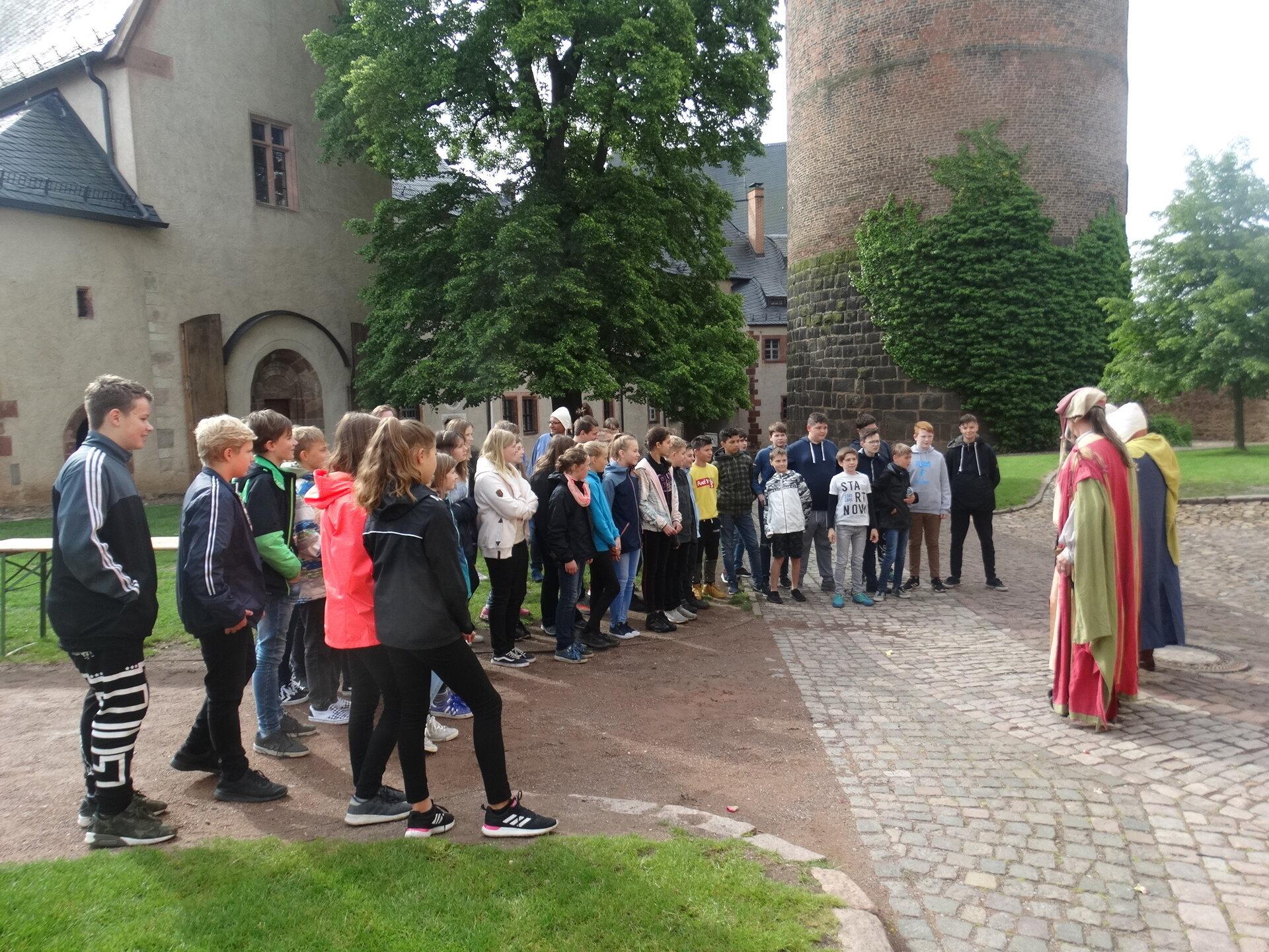 Mittelalter-Tag auf der Burg Mildenstein
