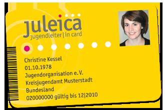 Juleica Mitgliedskarte