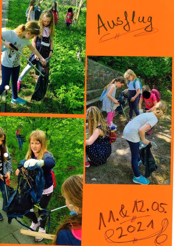 Müll sammeln in Wandlitz