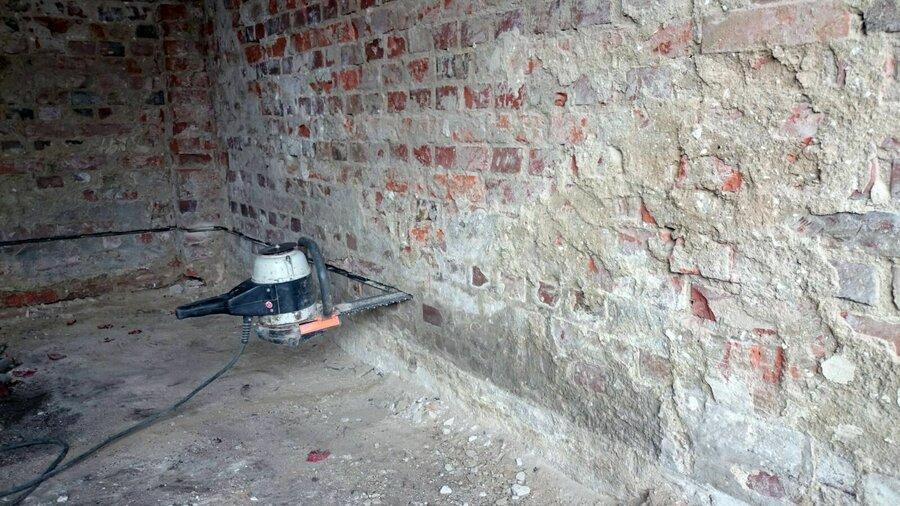 Mauerwerkstrockenlegung