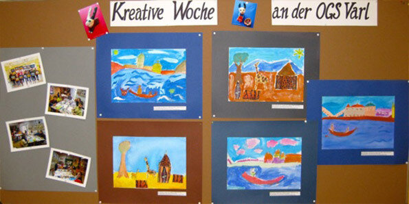 Kreative Woche