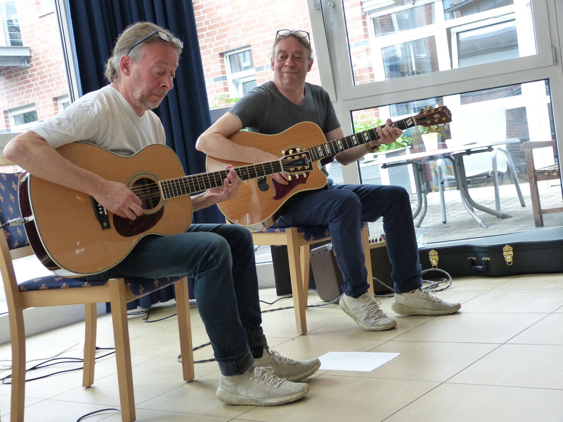 Das Hoene-Duo im Haus St. Georg in Vreden. Foto: Bürgerstiftung WML