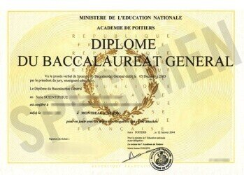 """""""Baccalaureate"""" (diploma enabling its holder to enter University) for females in France. https://en.wikipedia.org/wiki/Baccalaur%C3%A9at#/media/File:Bac_diplome0001.jpg"""