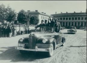 Visit of Todor Jivkov and Anton Yugov in Shumen, June 18, 1958. https://commons.wikimedia.org/wiki/File:BASA-2068B-1-674-1.jpg