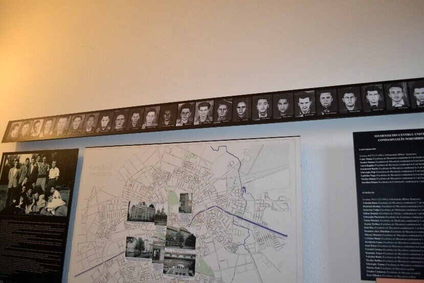 Anti-Soviet protest in Timisoara. Memorial room. https://www.memorialsighet.ro/30-octombrie-1956-protestul-studentilor-timisoreni/