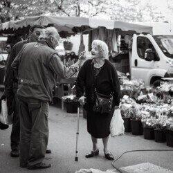 Elderly woman and man in France https://www.flickr.com/photos/x1klima/14318105412/in/photolist-nPf2Uq-2gM3daz-Ts1PNA-p1yidt-2gM3eDM-fDpX5x-5bkNpc-24WEANc-B5wnLA-dWshVT-DDkSNA-JtQt5b-rPU5Qe-HSVEGm-DT3yFR-5HLmt9-ps37pQ-6P7dFF-Btw2pR-BSrru9-BZJcJw-4NzkdP-obK7wp-dm753u-KqjSGH-gP9jKa-4afKP8-2b3Gb8k-bM85fe-2dTZs36-aUBNRZ-2dTZqXF-pCR9y6-aWJkeK-2fdc6X3-4mFRYX-2ig3bY1-eYULm1-nm5PZL-23SbAa5-prZuyy-ekz6ao-a5Ba1L-bjXmr2-2fdc5Af-2dTZqCx-zJ9TgP-5J5qKX-psa29y-pJcPVx
