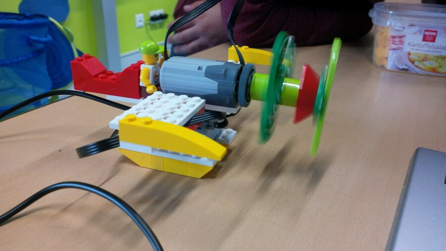 Flugzeug aus Lego