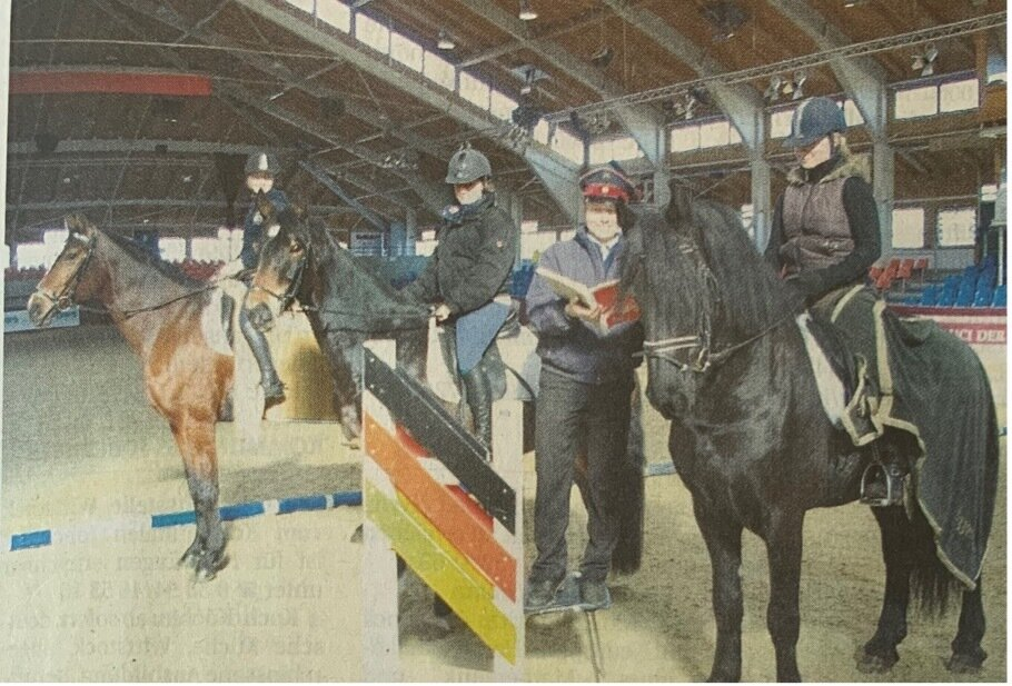 Für die Deutsche Meisterschaften trainiert