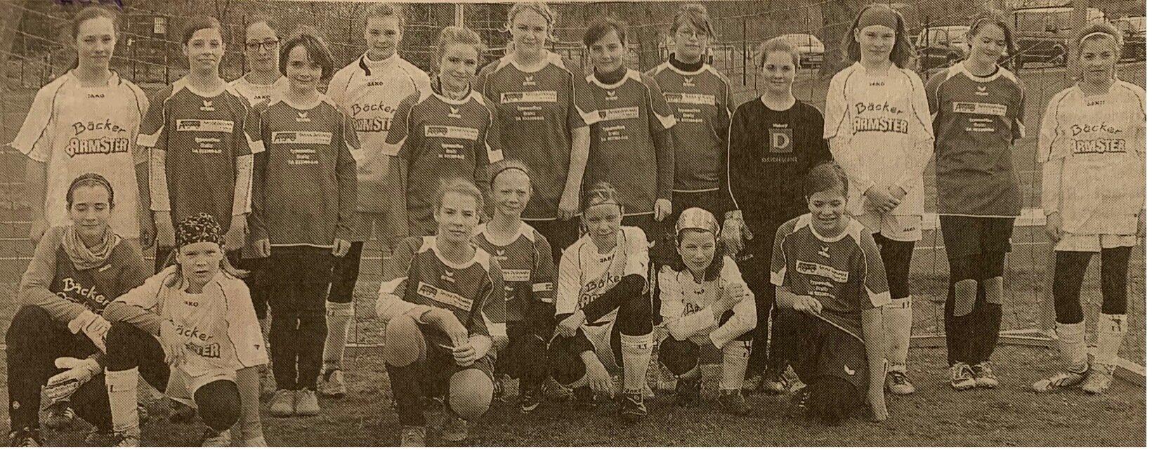 Die D-Mädchen der SG Sieversdorf scheiterten knapp im Halbfinale gegen Neutrebin