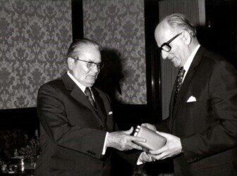 Josip Broz Tito pronounces the adoption of the 1974 Constitution. Courtesy of the Museum of Yugoslavia.