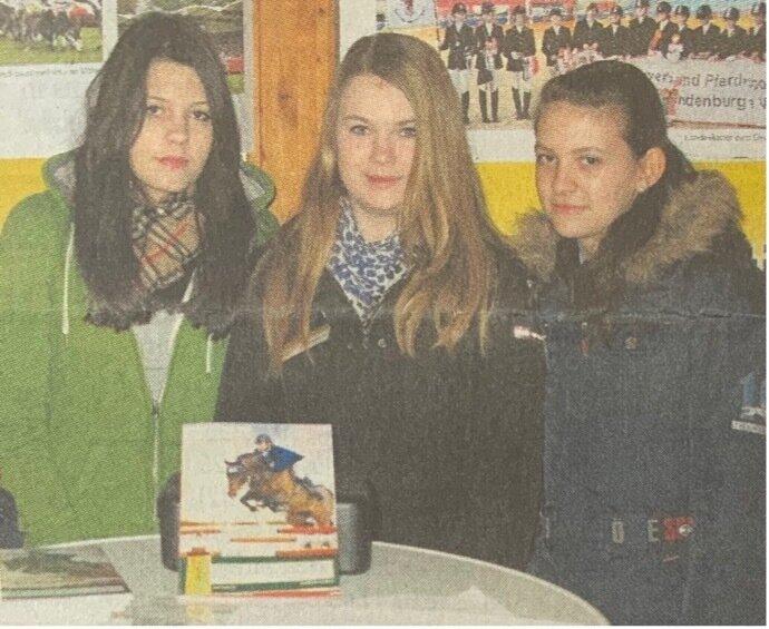 Celine Korrak aus Wien besuchte gestern ihren Freundinnen Lucy Tiedemann und Sophie Rümmler