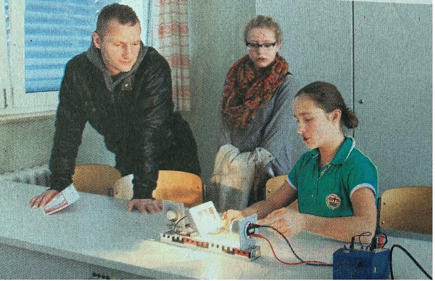 Prinz-von-Homburg-Schule Neustadt veranstaltete am Sonnabend einen Tag der offenen Tür