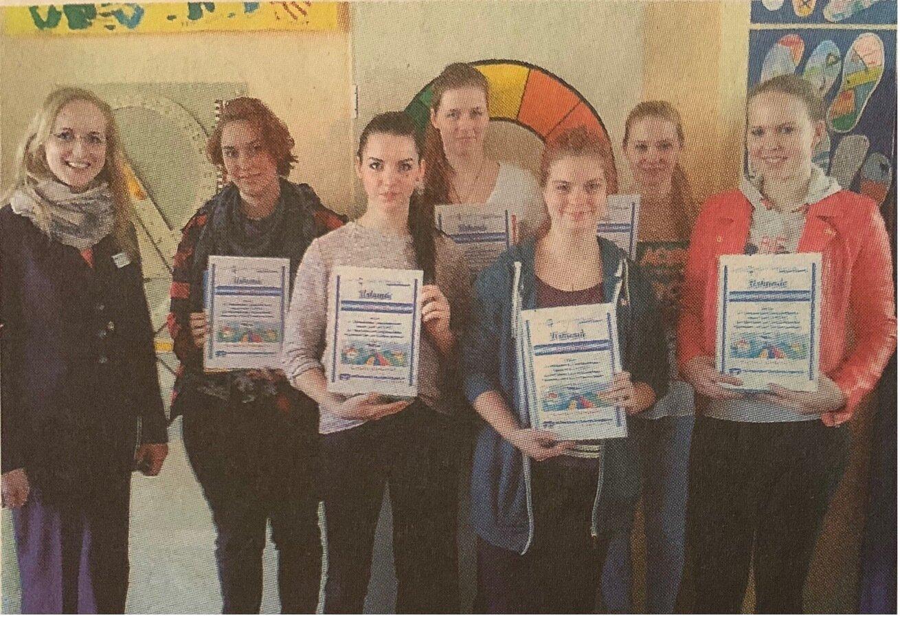 Erfolgreich: die Schüler der Prinz-von-Homburg-Schule in Neustadt