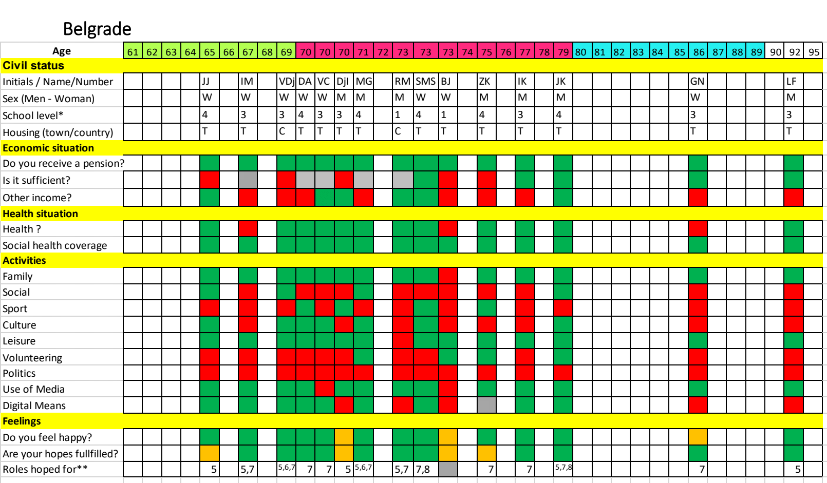 Belgrade grid