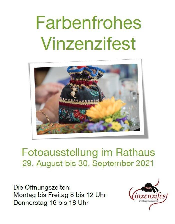 Farbenfrohes Vinzenzifest - Plakat zur Vinzenziausstellung 2021