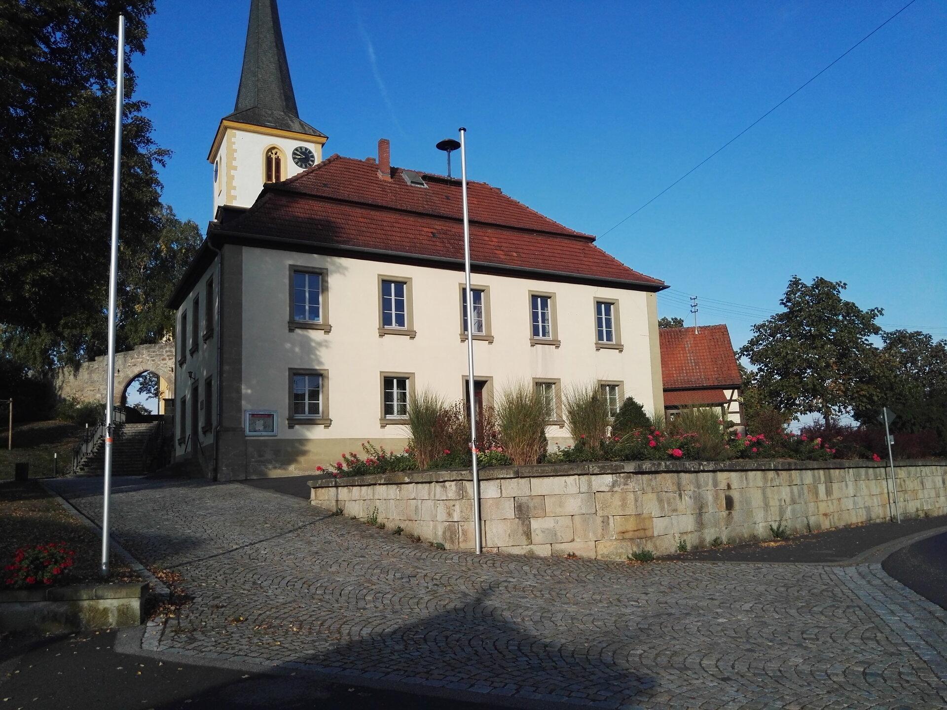 Alte Schule vorher