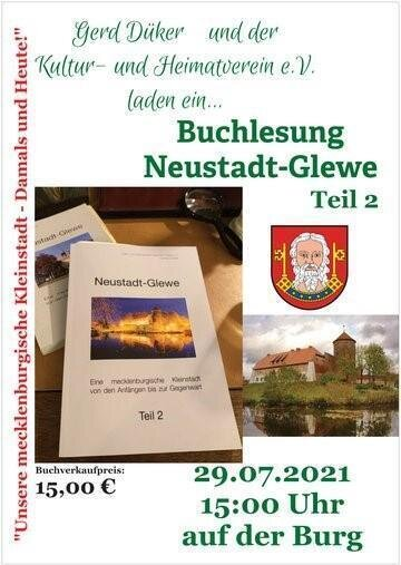 2021-07-29, Poster, Buchlesung