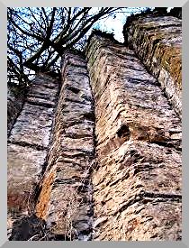 Bührener Basaltsäulen