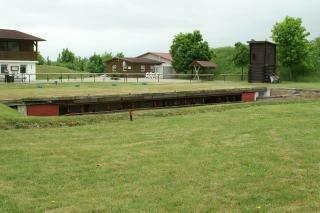 Bunker mit 15 Maschinen