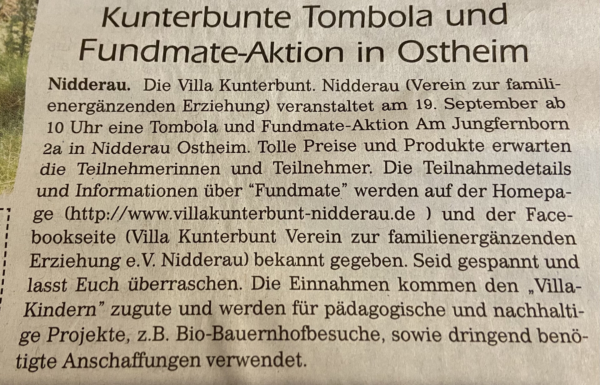 Fundmate/Tombola