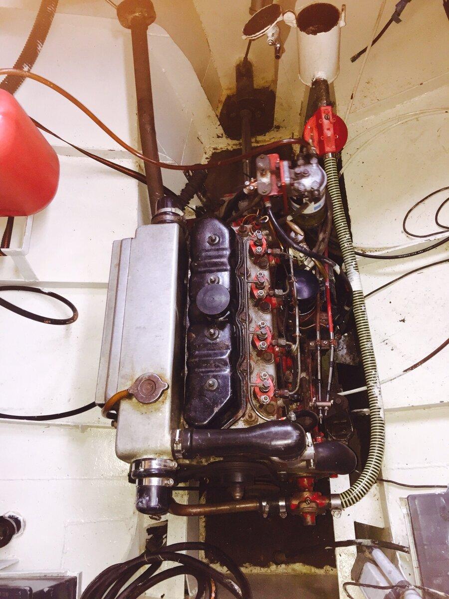 Der Motorraum