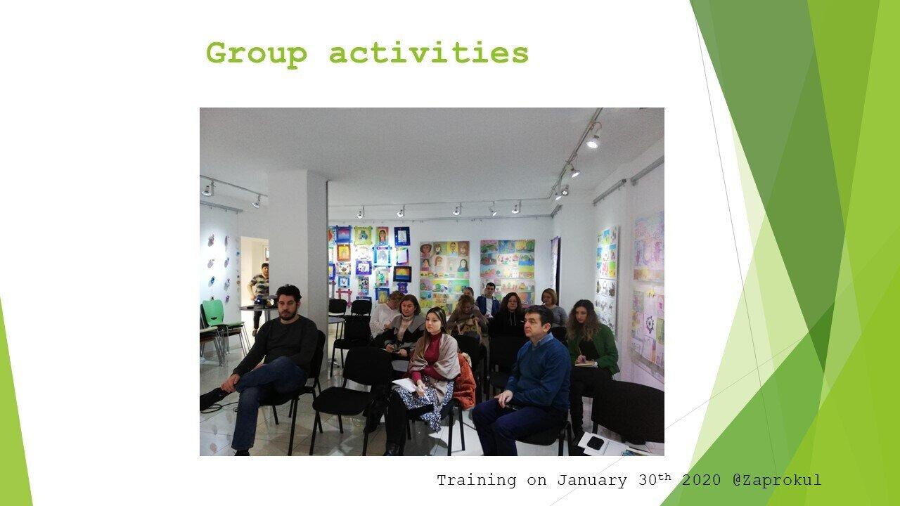 Group activities Belgrade