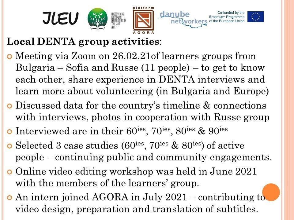 Group activities Sofia