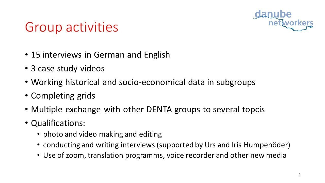 Group activities Ulm
