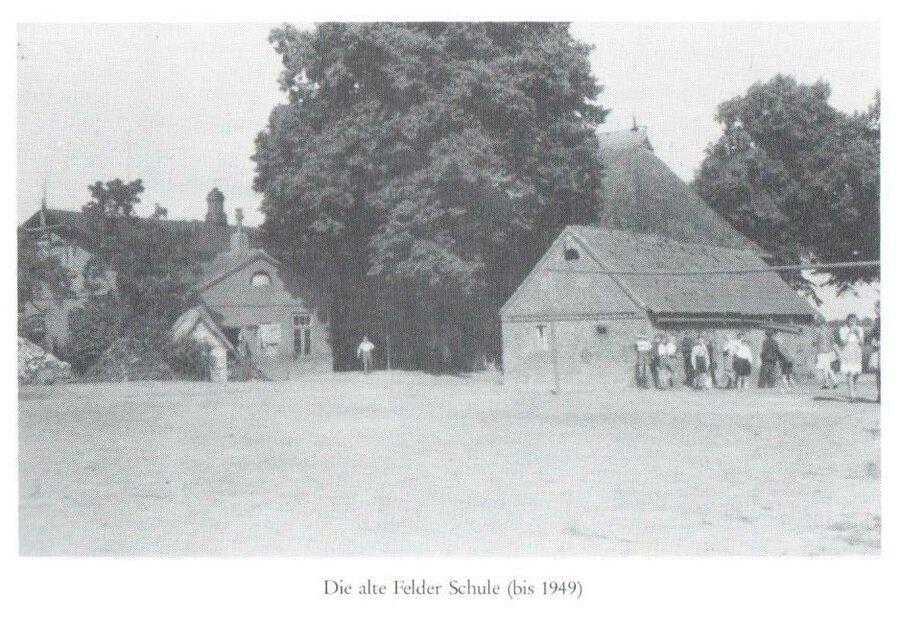 Quelle: Dorfchronik der Gemeinde Felde, 1986-2017