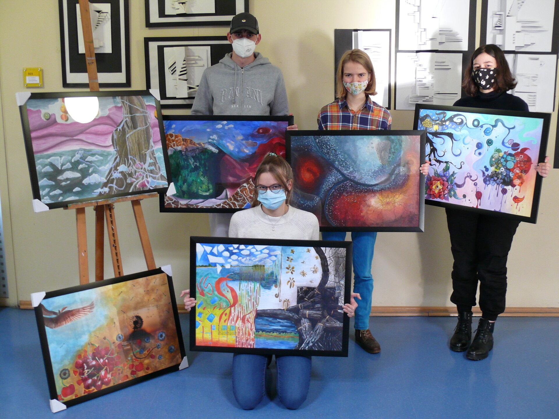 Dauerausstellung Fachbereich Kunst